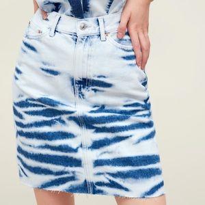 NWT • Zara • Premium Tie-Dye Skirt